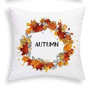 """⭐NEW⭐ - 🍁 """"Autumn"""" Pillow - 18 X 18"""